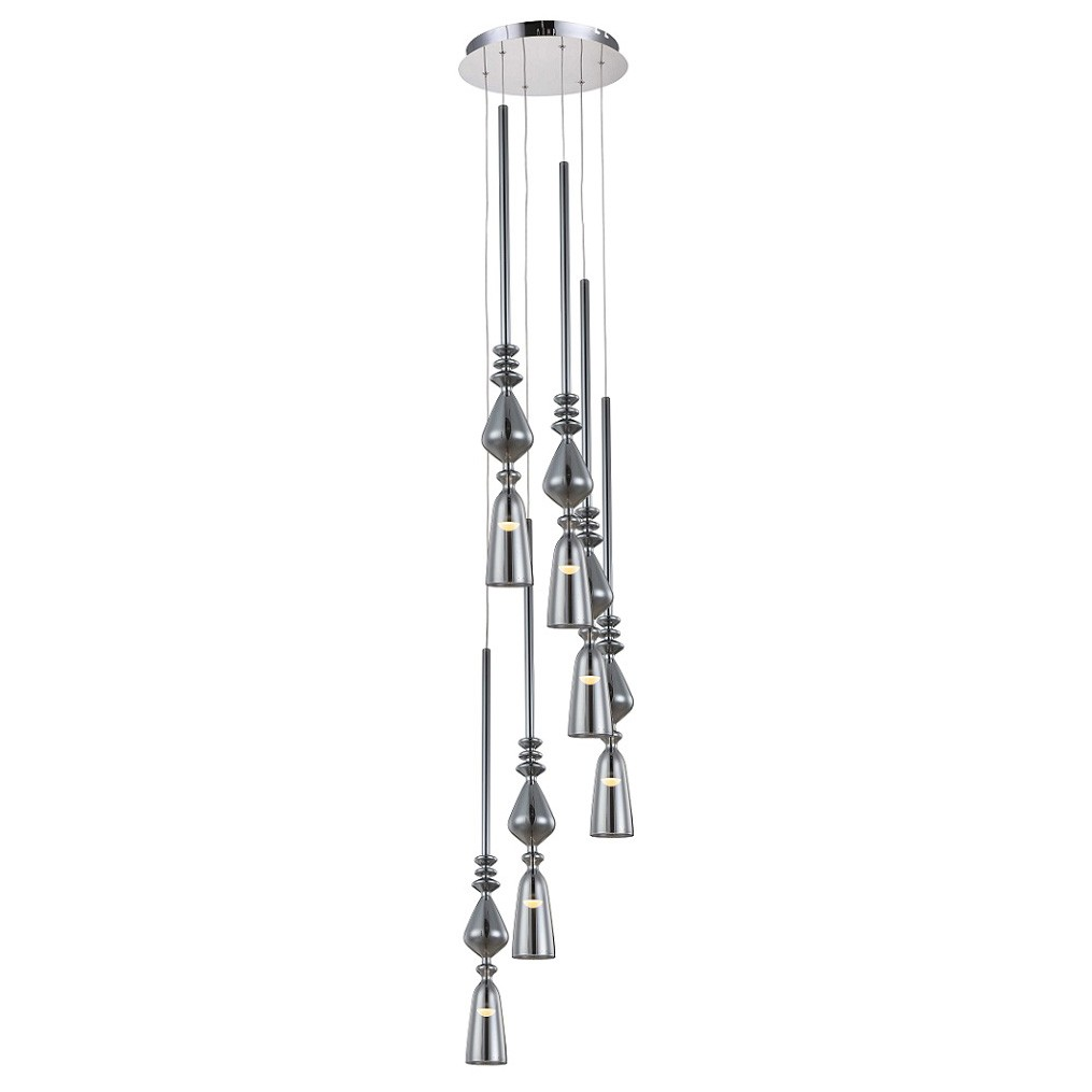 Crystal lux Люстра Lux d 360-6 chrome